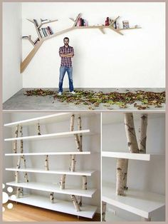 Creative shelving: