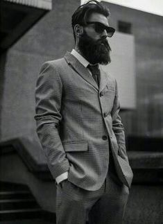 This is Legendary! - Main in suit with Hipster haircut