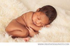 African American Newborn Photography