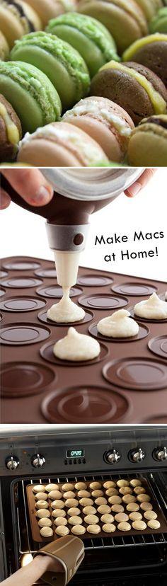 Make Macaroons At Home!