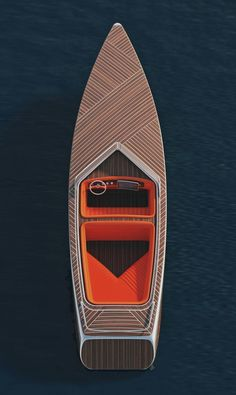 Truly beautiful combinations of shapes, as well as beautiful texture.    A very original design considering how many boats are made.