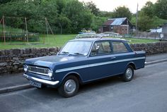 Vauxhall Viva HA SL90 (1966). My sister had one, and I learned to drive in it and my mother's Herald.
