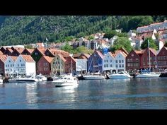 BERGEN, Norway Fjords Fiordos noruegos, Noruega turismo / Norway's Fjords / Norwegian Fjords tour - YouTube