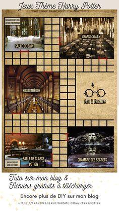 Cliquez sur l'image pour accéder au blog, vous pourrez télécharger les fichiers gratuitement pour fabriquer vos jeux sur le thème Harry Potter! Le 3ème jeu, le CLUEDO. Vous trouverez le plateau complet ainsi que toutes les cartes,un fond et les règles du jeu sur mon site. Theme Harry Potter, Harry Potter Diy, Harry Potter Francais, Harry Potter Calendar, Harry Potter Bricolage, Harry Potter Classroom, Anniversaire Harry Potter, Teen Wolf, Ideas