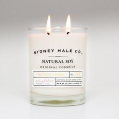 soy candle  GRAPEFRUIT and ORANGE by sydneyhaleco on Etsy, $28.00