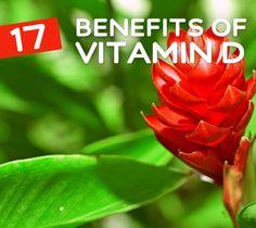 17 Benefits of Vitamin D- for your health & wellness.  More : http://bembu.com/vitamin-d-benefits