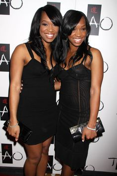 Khadijah Haqq, Malika Haqq friends with Khloe Kardashian. Famous Sisters, Famous Twins, Black Girl Magic, Black Girls, Black Celebrities, Celebs, Double Dose Twins, Celebrity Siblings, Beauty Crush
