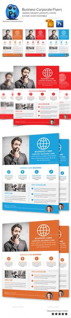 Business Flyers Templates Business flyer templates, Business - business pamphlet templates