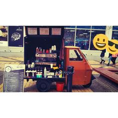 Mobile Coffee Shop Piaggio Ape50