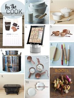 Poppytalk - The beautiful, the decayed and the handmade: Gift Guide: For the Cook