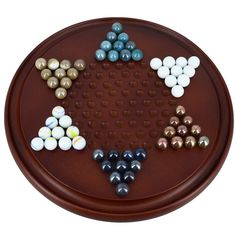 Game Chinese Checkers With Marbles Handcrafted Wooden Toys From India: Order the ShalinIndia Handcrafted Indian Chinese Checkers Wooden Game Set now.
