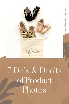 7 Do's and Don'ts of Product Photos | Crystal Clear Creative Studios #productphotography #productimages