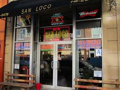 San Loco - tex mex, $1 pool, open 24hrs, pitcher margaritas and pina coladas