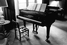 Glenn Gould's piano chair