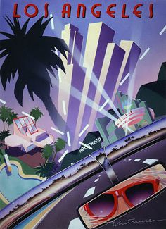 """Los Angeles"" by Kim Whitesides"