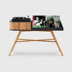 8 Best Record Player Stands With Vinyl Storage Best Record Player, Record Player Cabinet, Record Player Stand, Elle Spain, Recording Studio Design, Vinyl Storage, Record Storage, Home Studio Music, Yanko Design