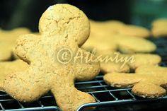 Terapia do Tacho: Bolachas de gengibre e laranja (Ginger and orange cookies)