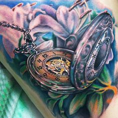 Tattoo Artist - Johnny Smith - time tattoo