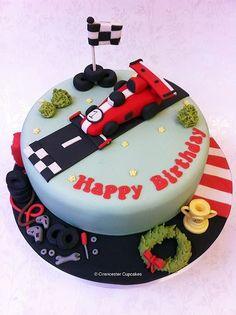 Birthday Cake - Finishing Line