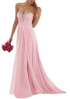 Rosa kleid lang hochzeit
