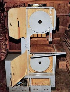 DIY Band Saw - Band Saw Tips, Jigs and Fixtures | WoodArchivist.com