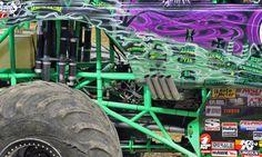 Monster Jam Detroit Grave Digger closeup Photo by: Graham Kozak