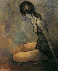 Jean Jansem(1920ー2013)「バレリーナの吐息」