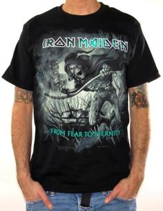 Iron Maiden, T-Shirt, From Fear To Eternity Sepia