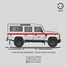 Blog di archivio delle illustrazioni VW di Kombit1, pagina instagram Defender 90, Land Rover Defender, Old Police Cars, Offroader, First Response, Range Rover Classic, Emergency Vehicles, Land Rovers, Jeep Renegade