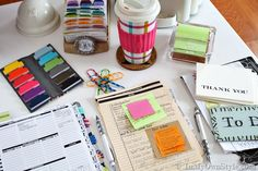 Planner Organization Ideas | Decorated Day Planner | InMyOwnStyle