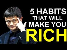 Toward Success: 5 Success Habits That Made Jack Ma a Billionaire Jack Ma Alibaba, Spiritual Music, Best Speeches, Habits Of Successful People, Digital News, Motivational Speeches, Online Trading, Great Videos, Life Tips