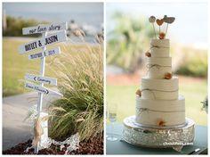 Emerald Isle wedding