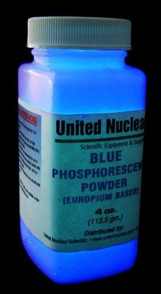 Europium UltraGlow® Powder - BLUE : United Nuclear , Scientific ...