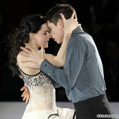 Tessa Virtue & Scott Moir  Canada's sweethearts & olympic gold medalists.