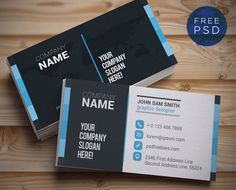41 best free business card templates images on pinterest business free business card template top 32 free psd business card templates and mockups 2017 colorlib wajeb Images