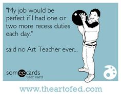 Do Art Teachers Have Too Many Extra Duties?