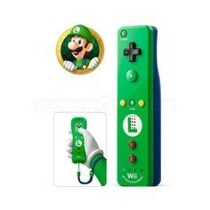 Nintendo Wii/Wii U Remote Plus, Luigi Edition - Tillbehör - Teknikproffset