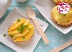 Il frutto di oggi è il #mango in un golosissimo accostamento con una deliziosa crostatina e una gustosa crema: Tartaletas de mango…  Clicca e scopri la #ricetta…