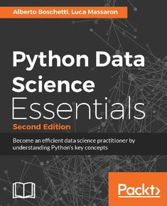Python Data Science Essentials  - If you are an aspiring data scientist and you have at least a working knowledge of data analysis and Python, this book will get you started in data science. Data analysts with experience of R or MATLAB will also find the book to be a comprehensive reference to enhance their data manipulation and machine learning skills. This is an affiliate link. #python #datascience