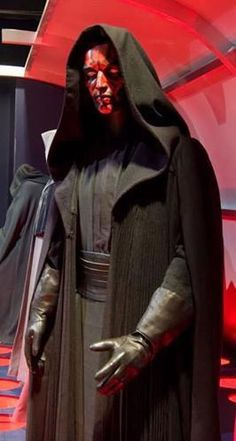 Star Wars Darth Maul WOOL Full Costume Tunic Belt Robe sith lord outfit props     reference