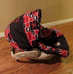 Boutique Infant Car Seat Cover by GodsLovingGrace on Etsy, $60.00
