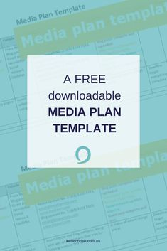 A FREE downloadable media plan template to step up your PR effort via @kelliethreelil Media Communication, Online Publications, Checklist Template, Marketing Communications, Public Relations, Content Marketing, Improve Yourself, Effort, Templates