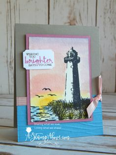 Stampin' Up! High Tide handmade card