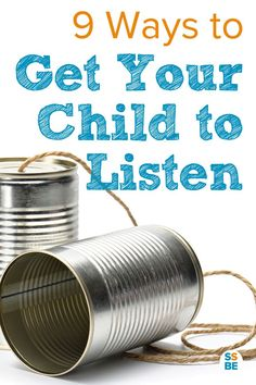 You're embarrassed to admit it, but it takes several tries to get your child to listen to you. You wonder how to get your child to listen to you the first time, much less at all. Don't worry: here are 9 ways to help make sure your kids listen and do what they're supposed to.