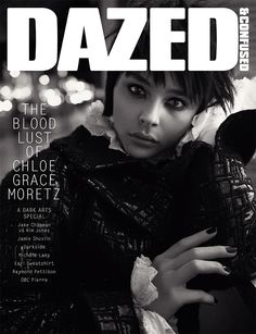 NOVEMBER, 2013. Chloë Grace Moretz goes to hell and back for our #DARKARTS special, shot by Glen Luchford and styled by Robbie Spencer. http://www.dazeddigital.com/artsandculture/article/17492/1/dazed-confused-november-2013-dark-arts
