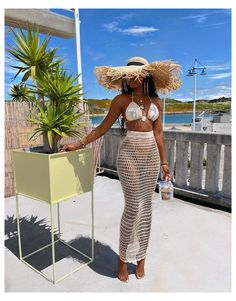 Miami Outfits, Summer Outfits, Girl Outfits, Fashion Outfits, Summer Beach Dresses, Beach Wear For Women Outfits, Ibiza Outfits, Beach Skirt, 2 Piece Outfits