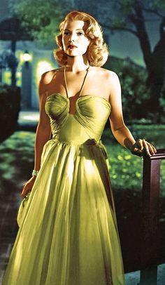 Rita Hayworth (1918-1987) in Affair in Trinidad  1952