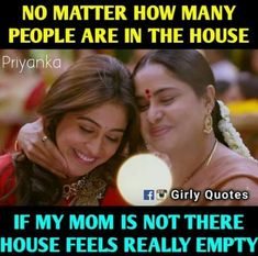 Home is not home without mom😘😍 Love My Parents Quotes, Mom And Dad Quotes, Daughter Love Quotes, I Love My Parents, Love U Mom, Mother Quotes, Boyfriend Quotes, Family Quotes, Reality Quotes
