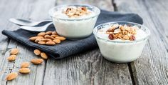 Make your own homemade almond milk dairy-free yogurt with or without a yogurt maker. Made with homemade almond milk, this recipe is simple and delicious.