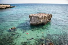 It's almost summer in Puglia...why don't you come take a plunge into the crystal clear waters of our sea?  #WeAreinPuglia